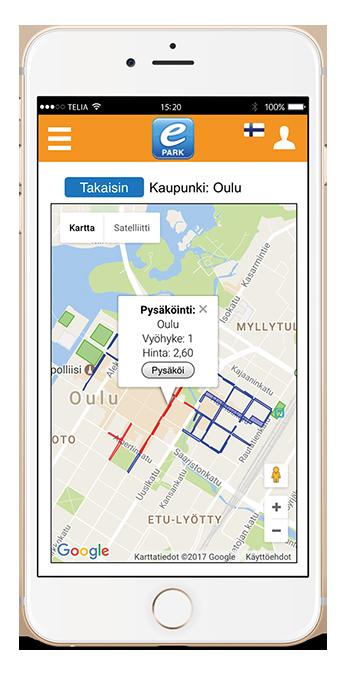 ePARK map